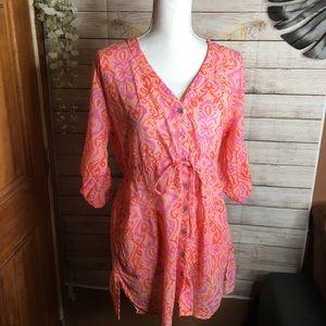 Fresh Produce tunic shirt size M/L
